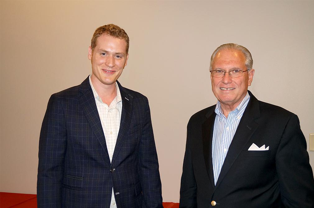 Karl Boehm on the left, Steve Gladis on the right.